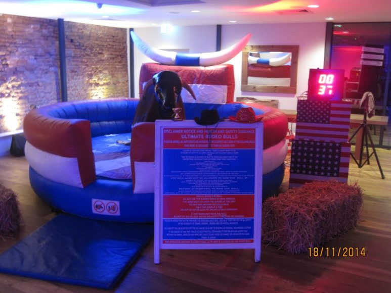 Rodeo Bull Hire 12ft Bed