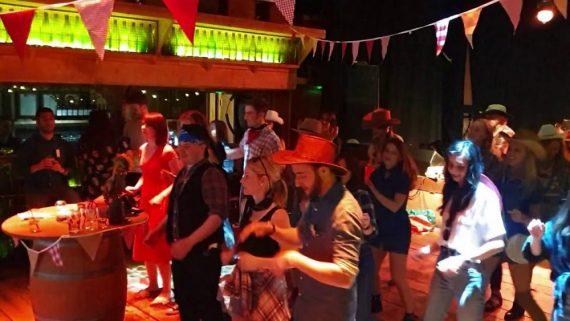 BARN DANCE LINE DANCE INSTRUCTOR